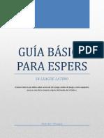 GUÍA BÁSICA PARA ESPERS