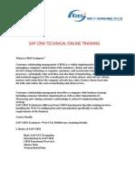 sapcrmtechnicalonlinetraining-130131005839-phpapp02