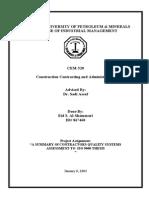 Contractors Quality ISO 9000