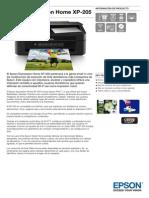 Epson-Expression-Home-XP-205-Información de producto