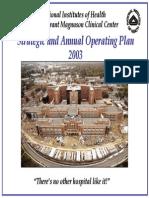 2003 Strategic Plan