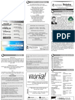 Boletim Informativo - 6 de setembro de 2009