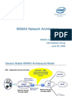 WiMAX Network Architecture