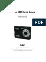 ViviCam X029 Camera Manual