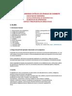 2013 Silabo -Plan de Costos y Presupuestos 1