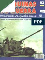 Maquinas de Guerra 093 - Armas Antiaereas Remolcadas Modernas