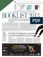 Booklist 2013