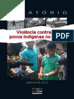 Cimi Violencia Contra Indigena 2012