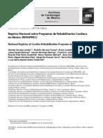 programas de rehabilitación cardiaca en mx