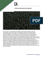 Rodríguez Fermín - Sentencias de vida, el retorno del animal a la política