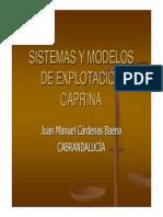 SISTEMAS Y MODELOS DE EXPLOTACIÓN CAPRINA.