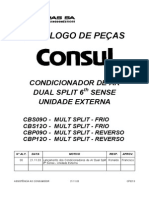 manual de serviço multisplit CBS090