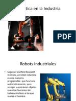Sesion 11. Robotica Industrial