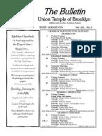 UT Bulletin January 2014