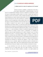 Colmenares, Abner J. Papel de La Critica Arquitectónica