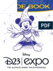 Disney D23 Expo Guidebook