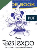 Disney D23 Expo Guidebook