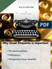 How to Write Mail-Subroto Ghosh