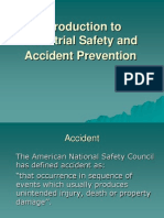 Introduction to Industrial Safety and Accident Prevention