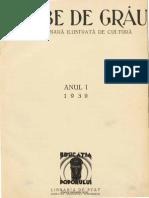 Boabe de Grau 1 Nr. 1 1930