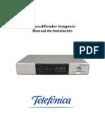 Manual - Imagenio - Decodificador
