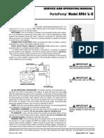 PortaPump Service Manual