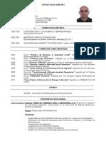 Curriculum Sergio 2012
