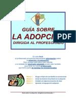 GUIA ADOPCIÓN PARA ELPROFESORADO