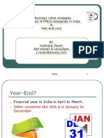 E-business case study - ERP Year end rush - Emami / Marico / ITC