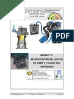 Proyecto Motro a Hidrogeno