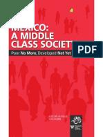 De La Calle y Rubio 2012. Mexico a Middle Class Society