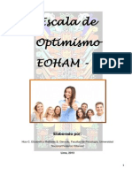Escala de Optimismo EOHAM - 2 Ejemplo Manual Off
