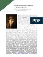 """""""El preconcepto revolucionario"""" (1918-1919) por Fernando Pessoa Introducción y Traducción"""