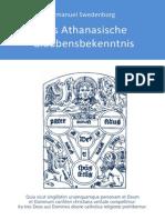 Das Athanasische Glaubensbekenntnis