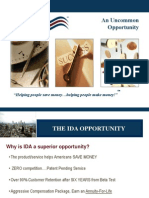 IDA Business Opportunity