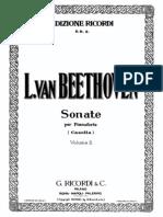 Beethoven - Sonate Per Pianoforte - Alfredo Casella  Vol. 2