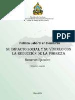 Mercado Laboral Honduras