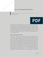 Korean - History of Korean Film Policies