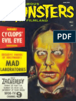 Famous Monsters of Filmland 007 1960 Warren Publishing