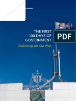 Coalitions First 100 Days of Government