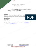 Cursos a Distancia de la Fundación para el Desarrollo de la Enfermería de España