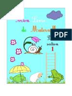 Le Livre de Maternelle Premiere Section
