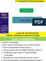 Chapter 2 Leadership IV