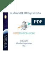 Programa III Congreso Del Futuro