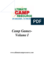 Camp Games 118pages