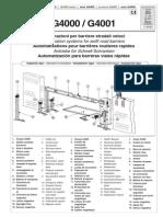 Securitex Came G4000 Manual