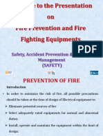 Fire Prevention & Fire Fighting Equipment