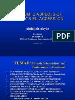 Economic Aspects of Turkey Accession to Eu