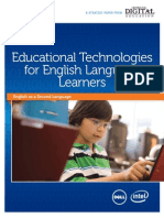 Cde Educational Technologies English Language Learners