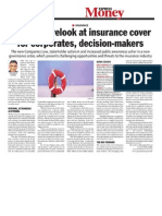 Time for a relook at insurance cover for corporates, decision-makers
